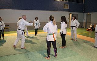 Jujitsu féminin